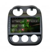Штатная магнитола RedPower 18316B для Jeep Compass 2006+ на базе OS Android 4.2.2