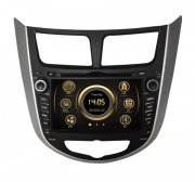 Штатная магнитола RedPower 12067 для Hyundai Accent RB, HB