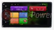 Штатная магнитола RedPower 21239B для Mitsubishi Outlander, Lancer, ASX, L200, Pajero 4, Sport на базе OS Android 4.4.2