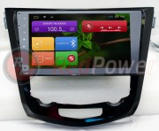 Штатная магнитола RedPower 21301B для Nissan Qashqai, X-Trail 2014+ на базе OS Android 4.4.2
