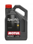 Motul Моторное масло Motul Specific RBS0-2AE 0w-20