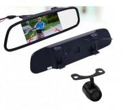 Система видеопарковки: Зеркало заднего вида со встроенным 4,3'' монитором и камерой заднего вида Prime-X M-042 plus