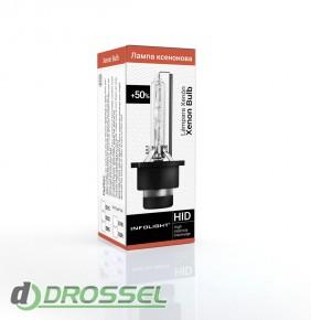 Ксеноновая лампа Infolight D2S (+50%) 35Вт