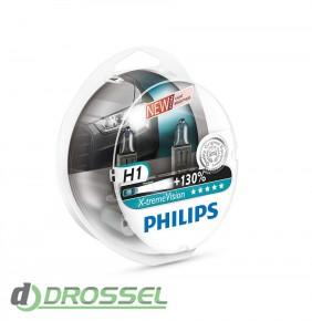 Комплект галогенных ламп Philips 12258XV+S2 (H1)
