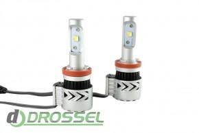 Светодиодная лампа Zax Led Headlight Cree G8 H11 6000Lm_1