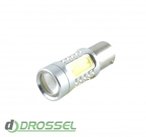 Zax LED S25 (P21W 1156 BA15S) HIGH POWER 5PCS Lens 7.5W White_2