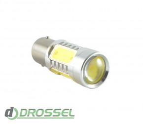 Zax LED S25 (P21W 1156 BA15S) HIGH POWER 5PCS Lens 7.5W White_5