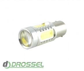 Zax LED S25 (P21W 1156 BA15S) HIGH POWER 5PCS Lens 7.5W White_6