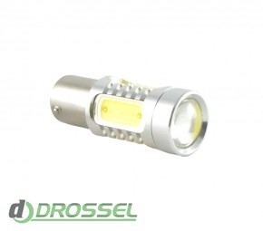 Zax LED S25 (P21W 1156 BA15S) HIGH POWER 5PCS Lens 7.5W White_9