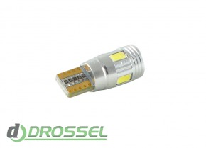 Zax LED T10 (W5W) CAN 5730 4SMD + 2SMD Lens White_5