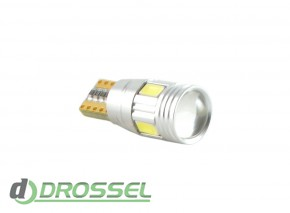 Zax LED T10 (W5W) CAN 5730 4SMD + 2SMD Lens White_6