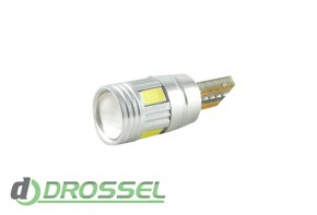 Zax LED T10 (W5W) CAN 5730 4SMD + 2SMD Lens White_9