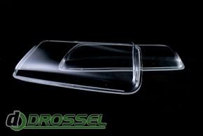 Прозрачные акриловые стекла для фар Audi 80 B4