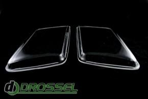 Прозрачные акриловые стекла для фар Audi 80 B4_4