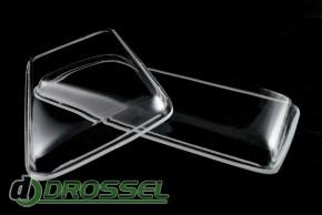 Прозрачные акриловые стекла для фар Audi 80 B4_6