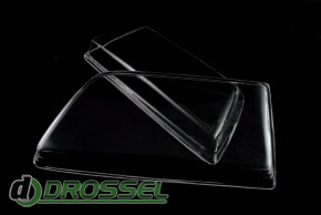 Прозрачные акриловые стекла для фар Opel Kadett E