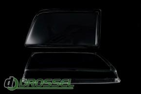 Прозрачные акриловые стекла для фар Opel Kadett E_3