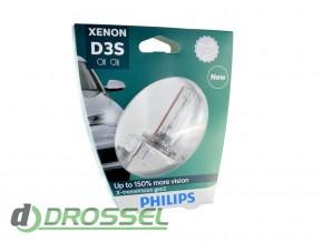 Philips Xenon X-tremeVision gen2 D3S 42403XV2S1 35W 4800K_5