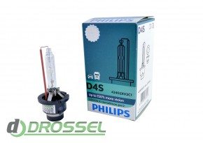 Philips Xenon X-tremeVision gen2 D4S 42402XV2C1 35W 4800K_10