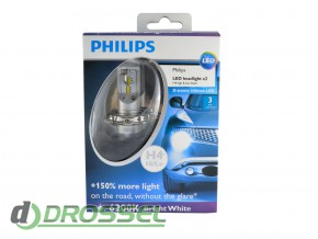 Philips X-treme Ultinon 12953BWX2 (H4)