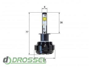 Светодиодная (LED) лампа Sho-Me G1.4 H1 40W_3