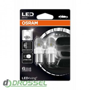 Osram LEDriving Premium 1557CW-02B / 1557R-02B / 1557YE-02B