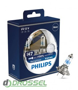 Philips Racing Vision 12972RVS2 (H7)