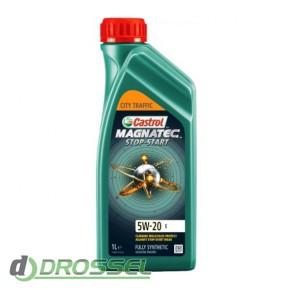 Моторное масло Castrol Magnatec Stop-Start 5W-20 E_2