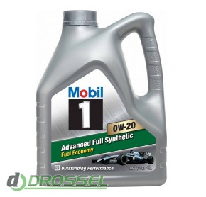Моторное масло Mobil 1 0W-20 Advanced Fuel Economy