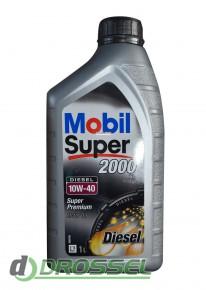 Моторное масло Mobil Super 2000 X1 Diesel 10W-40_2