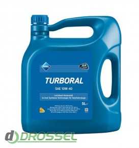 Моторное масло Aral Turboral 10W-40