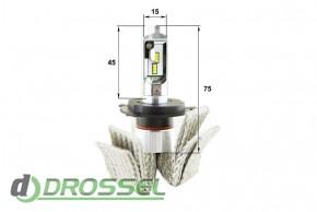 Светодиодная (LED) лампа Sho-Me G6.2 H4 25W