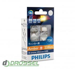 Комплект светодиодов Philips X-treme Ultinon LED 12763X2