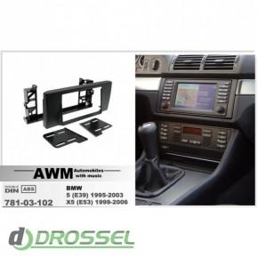 781-03-102 переходная рамка для BMW 5 (E39), 2 DIN_2
