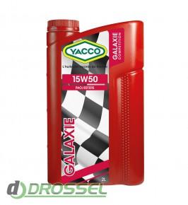 Моторное масло Yacco Galaxie 15W-50