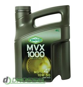 Мотоциклетное моторное масло Yacco MVX 1000 4T 10W-50