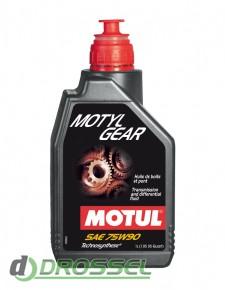 Полусинтетическое трансмиссионное масло Motul Motylgear 75W90 GL