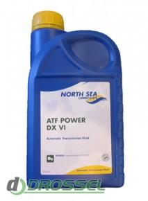 Синтетическая жидкость для АКПП North Sea ATF POWER DX VI_1