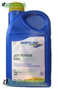 Синтетическая жидкость для АКПП North Sea ATF Power LG6_1