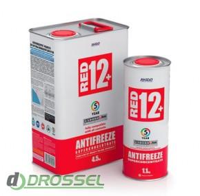 Антифриз Xado (Хадо) Antifreeze Red 12+