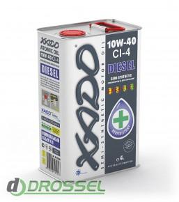 Моторное масло Xado (Хадо) Atomic Oil 10w-40 CI-4 Diesel