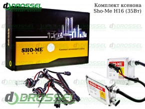 Комплект ксенона Sho-me H16 (3000K, 4300K, 5000K, 6000K)