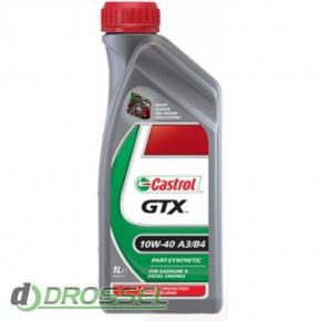 Castrol GTX 10w40 A3/B4_1л