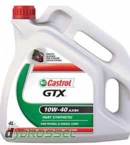 Castrol GTX 10w40 A3/B4 4л