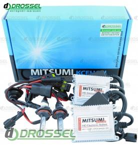 Комплект ксенона Mitsumi slim 35Вт HB4 (9006) (3000K, 4300K, 500