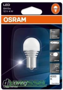 Osram OS 7556 CW 6000K P21W (BA15S)