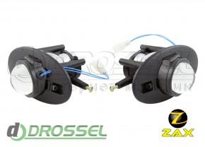 Штатные биксеноновые линзы ПТФ Zax Bi-Fog SP 017 Accord, Civic,