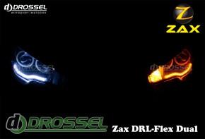 √ибкие дневные ходовые огни Zax DRL-Flex Dual с поворотом