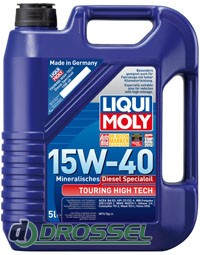 Liqui Moly Touring High Tech Diesel Specialoil 15W-40 5л