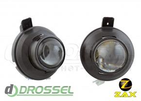 Штатные биксеноновые линзы ПТФ Zax Bi-Fog SP 012 Chevrolet Cruze